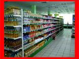 Металлические стеллажи для продуктовых магазинов - фото 1