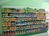 Металлические стеллажи для продуктовых магазинов - фото 2