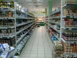 Металлические стеллажи для продуктовых магазинов - фото 4