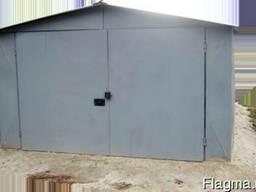 Металлический гараж. Изготовление металлических гаражей.