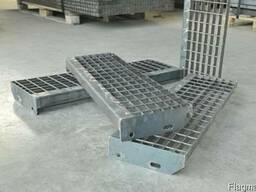 Металлический решетчатый настил - фото 2