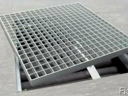 Металлический решетчатый настил изготовление