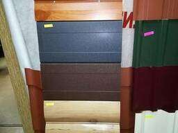 Металлический сайдинг блок-хаус, доска, корабельная доска