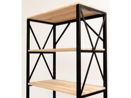 Металлический Стеллаж для дома LOFT, 6 полок, стеллаж Лофт