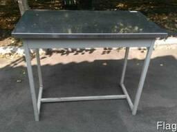 Металлический стол для кухонь общепита б у