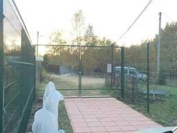 Металлический забор из сварной сетки, паркан 150х300см - фото 3