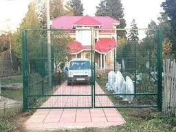 Металлический забор из сварной сетки, паркан 150х300см - фото 5