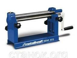 Metallkraft RBM 305 вальцы настольные ручные 0.8 мм вальцовочный станок