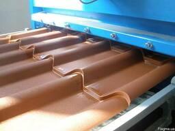 Металлочерепица Монтеррей толщина 0.4мм, 0.45мм, 0.5мм