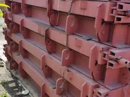 Металлоформы плиты забора 3ПБ 30. 20 формы фундамента