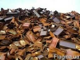 Металлолом, отходы производства, штамповку