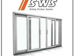 Пластиковая Раздвижная Система Окна/Двери