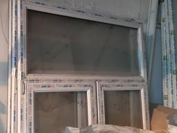 Металлопластиковые окна 1360 х 2050 мм