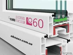 Металлопластиковое окно Rehau Ecosol ) Axor
