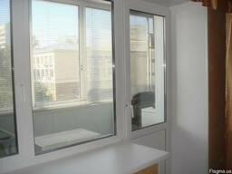 Металлопластиковые окна, балконы, лоджии, двери, перегородки