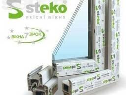 Металлопластиковые окна Steco под заказ.
