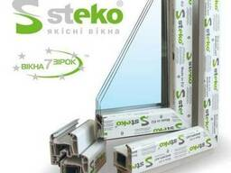 Металлопластиковые окна Steko. Под заказ и готовая продукция
