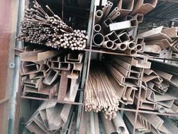 Б/у металлопрокат трубы квадрат швеллер