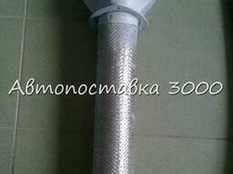 Металлорукав в боре КАМАЗ (сетка)