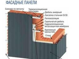 Металлосайдинг (сайдинг металлический) вертикальный