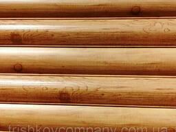 Металлосайдинг сруб имитация под дерево сосна Китай 0, 4. ..