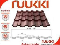 Фінська черепиця Ruukki Adamante RR 750 теракотовый 0. 5. ..