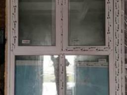 Металопластиковые окна демонтированые из новостроя