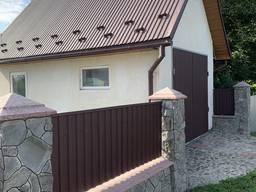 Металопрофіль Чернівці профнастил огорожа фасад паркан забор