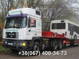 Международные перевозки троллейбусов