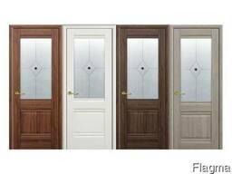 Межкомнатные двери МДФ, деревянные, шпонированные