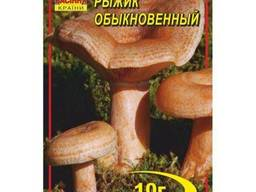 Мицелий гриба Рыжик, 10 гр