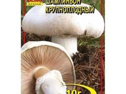 Мицелий гриба Шампиньон крупноплодный 10г