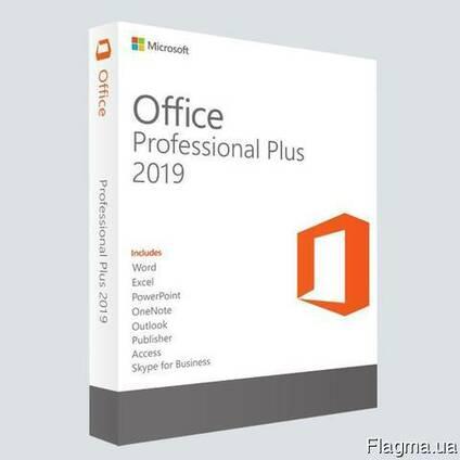 Microsoft Office 2019 Pro Plus лицензионный ключ активации