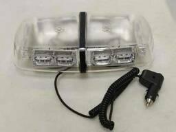 Мигалка желтая LED люстра 12/24V LD-636 LED
