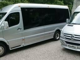 Мікроавтобуси пасажирські перевезення Львів