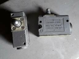 Микропереключатель МП2302У2~380В/-220В ~/-2, 5А исп. 2