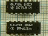 Микросхемы импортные SN74ALS810 SN74LS266 VIPER50 VIPER53 VL82C50 SN75176 BD137-16 - фото 1