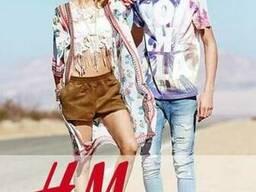 Микс новой одежды H&M по €16.00/кг.