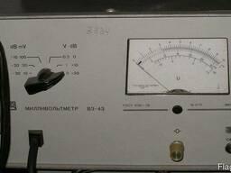 Милливольтметр В3-43 - фото 1