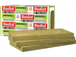 Минеральная вата BauGut Universell30 100 мм 3 кв. м 5 шт