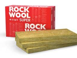 Минеральная вата Rockwool (Роквул) Superrock (Суперрок)