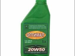Минеральное масло высокой вязкости Оптимал 20w50