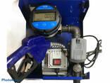 Мини АЗС 220 в 70 л. мин Авто Стоп счетчик OGM 25 E - фото 5
