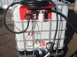 Заправочная колонка с точным счетчиком для ДТ 12В 50л/мин