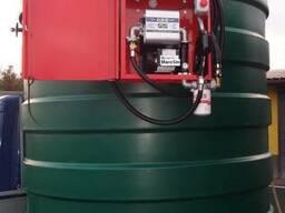Мини АЗС с резервуаром 9тон Kingspan (Великобритания) для ДТ