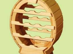 Мини-бары из дерева, деревянные столы для бара, Бар-бочка