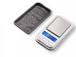 Мини карманные ювелирные электронные весы 0, 1-200 гр NEW. ..