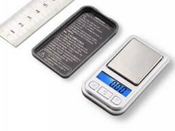 Мини карманные ювелирные электронные весы 0, 1-200 гр NEW 398i