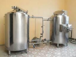 Мини-пивоварня 200л
