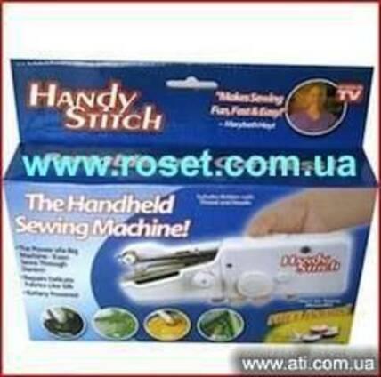 Мини швейная машинка ручная Handy Stitch.